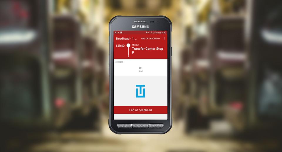 Ubitransport : mobile phone application